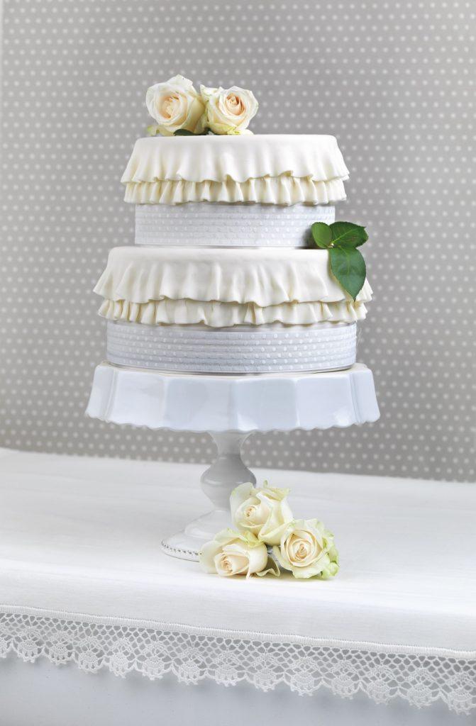 Nastro per alimenti DRESS CAKE POIS SEMPLICI