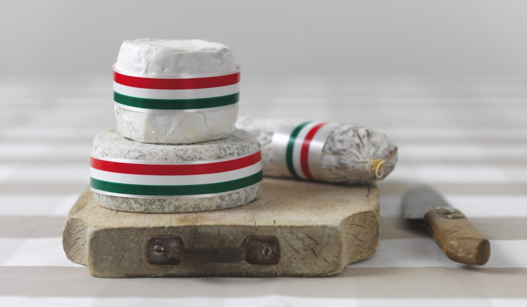 Nastro per alimenti DRESS CAKE TRICOLORE