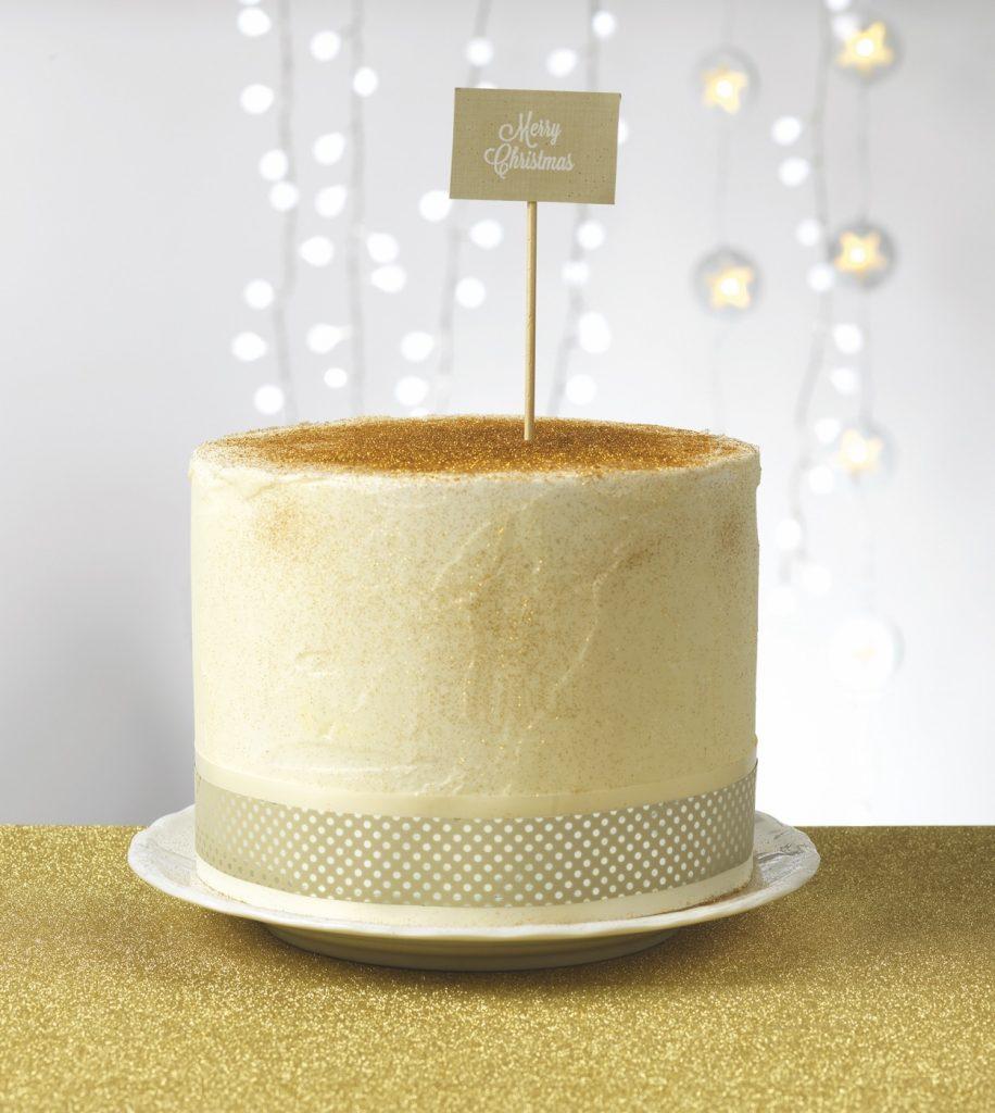 Nastro per alimenti DRESS CAKE PICCOLI POIS METAL