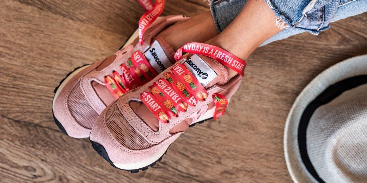 lacci scarpe stampa tropical