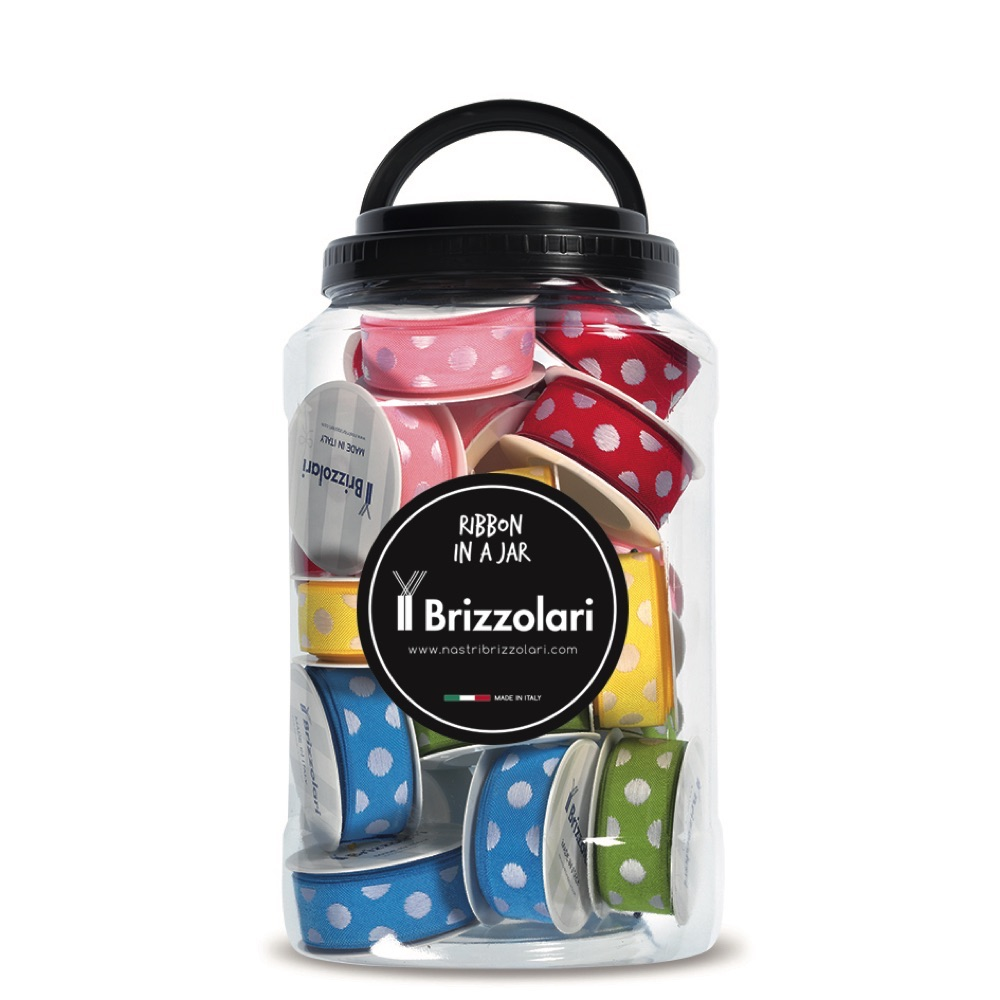 Jar nastro tessuto classico pois