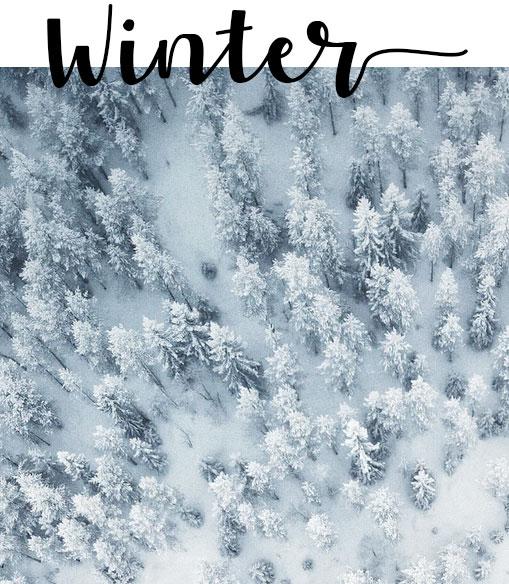 nastri texture invernali