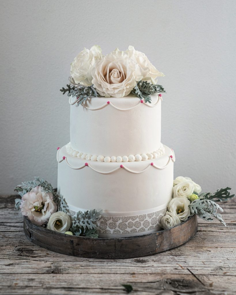 Nastro per alimenti DRESS CAKE ROSE